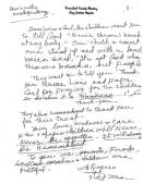 A copy of the kind of letters Violet Zaru wrote to the author.