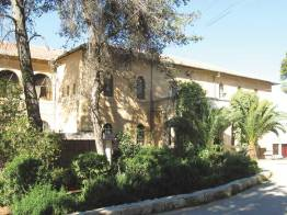 The main building of Ramallah Friends Lower School. This iss wheree the author and his wife taught in the 1983—1984 school year when it was Friends Girls School.
