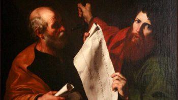"Saint Peter and Saint Paul, by Jusepe de Ribera, circa 1616. <a href=""https://commons.wikimedia.org/wiki/File:Saint_Peter_and_Saint_Paul_mg_0036.jpg"">Via Wikimedia</a>."