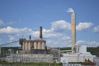 Merrimack Station power plant in Bow, N.H. Via Wikimedia.org.