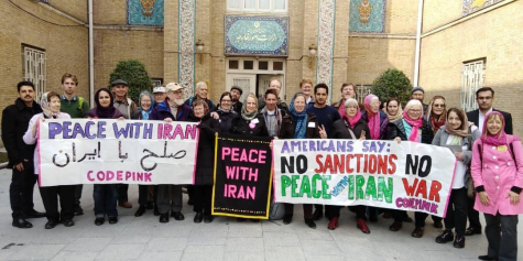 From the Code Pink peace delegation to Iran. Via Twitter.