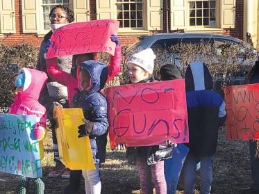 Greene Street Friends School's MLK Jr. Day of Action in Philadelphia, Pa.