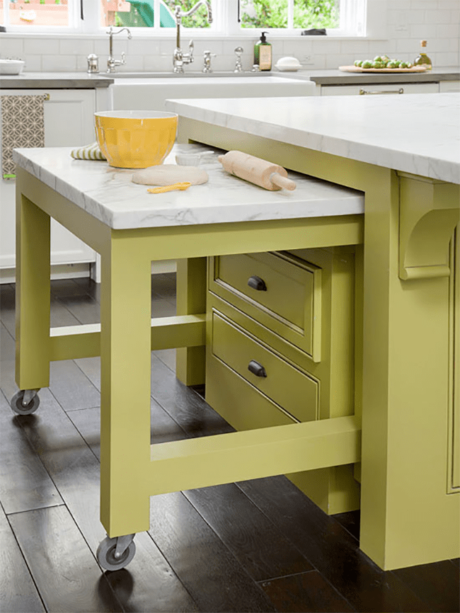 kitchen work station colors for cabinets pull out friends life care prepare to age at home my installing collapsible stations in your
