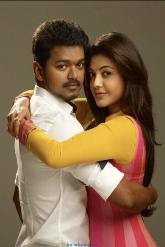 Vijay and Kajal Aggarwal in Jilla First Look Images
