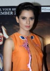 Kangana Ranaut Latest Photos in Orange Dress