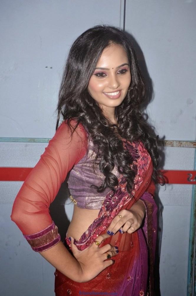 Aarushi Latest Photos in Saree