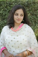 Nitya Menon Latest Photos in White Dress