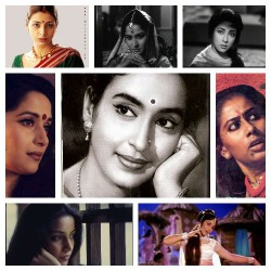 The women of Indian Bollywood Movie