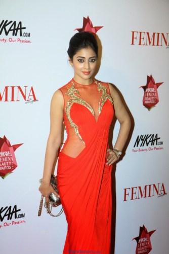 Shriya Saran Latest Photos in Red Dress
