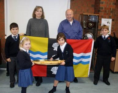 Polam School Celebrates Bedfordshire Day