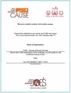 NYAJs Certificate