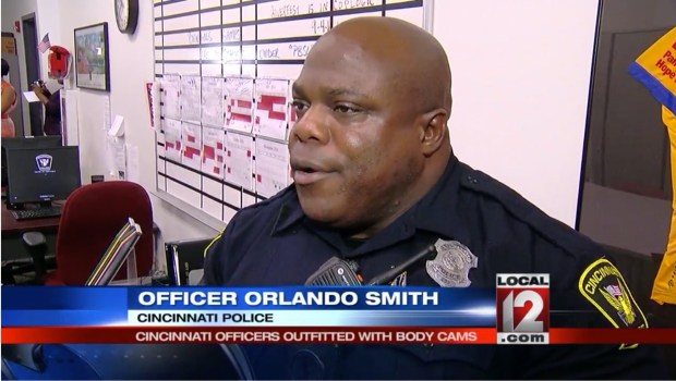 Controversial Officer Orlando Smith is the poster child for body cameras.