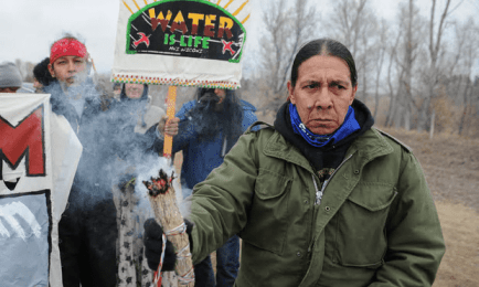 Standing Rock Thanksgiving: a day of mourning, resistance and Jane Fonda