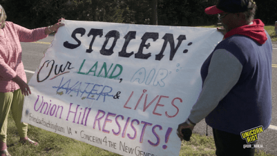 Historic Union Hill Community Threatened By Atlantic Coast Pipeline