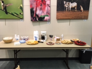 Thanks to Evelyn Meador Library staff for providing refreshments!