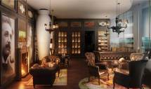 Home Cigar Lounge Design