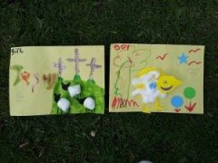 Easter Treasure Hunt Drawing Competition 2nd Place Winners