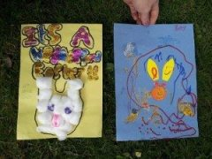 Easter Treasure Hunt Drawing Competition 3rd Place Winners