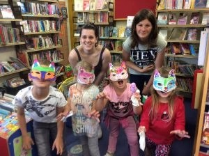 Summer Read Volunteers helping out at one of our many storytime and craft events.