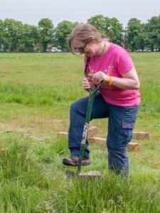 Digging post hol;e