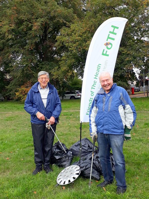 Litter-pick Volunteers