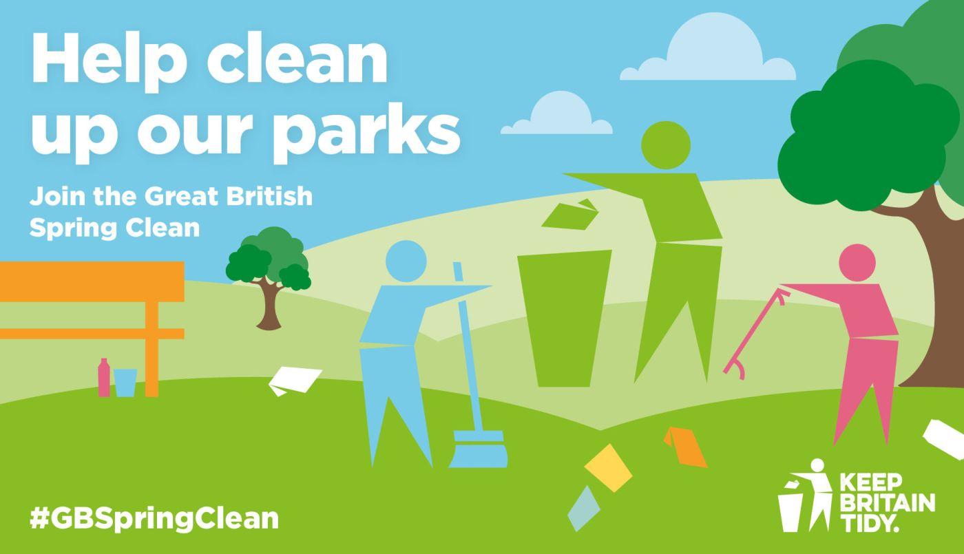Great British Spring Clean Banner