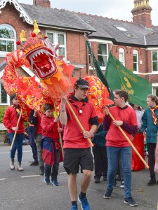 May Day Scout's Dragon