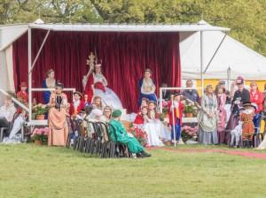 May Queen Enthroned