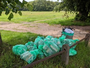 Litter Collection Pile