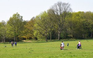 People Out Walking