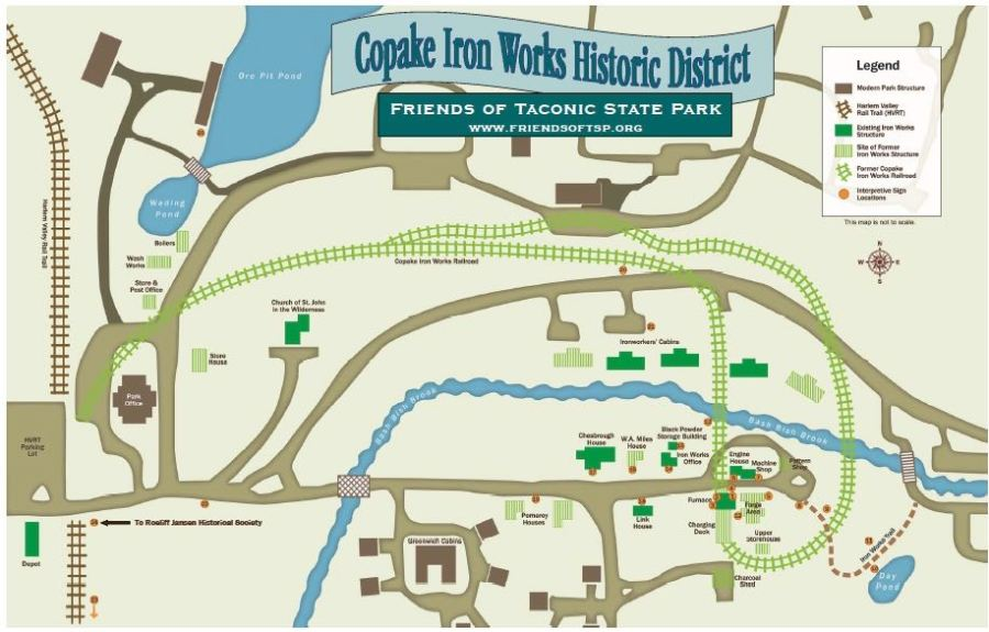 Iron Works Trail Map