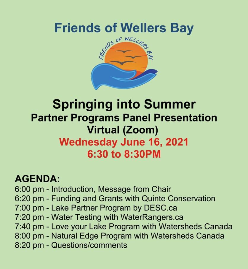 Springing into Summer Poster