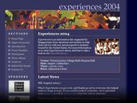 Experiences 2004
