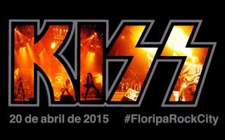 Kiss em #FloripaRockCity
