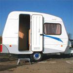 Schäferwagentransportable Unterkunftbaustellen Wohnwagen