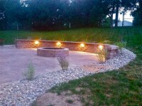 River Rock Landscaping Fire Pit | www.imgkid.com - The ...