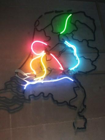 Waterliniemuseum kaart NL met linies