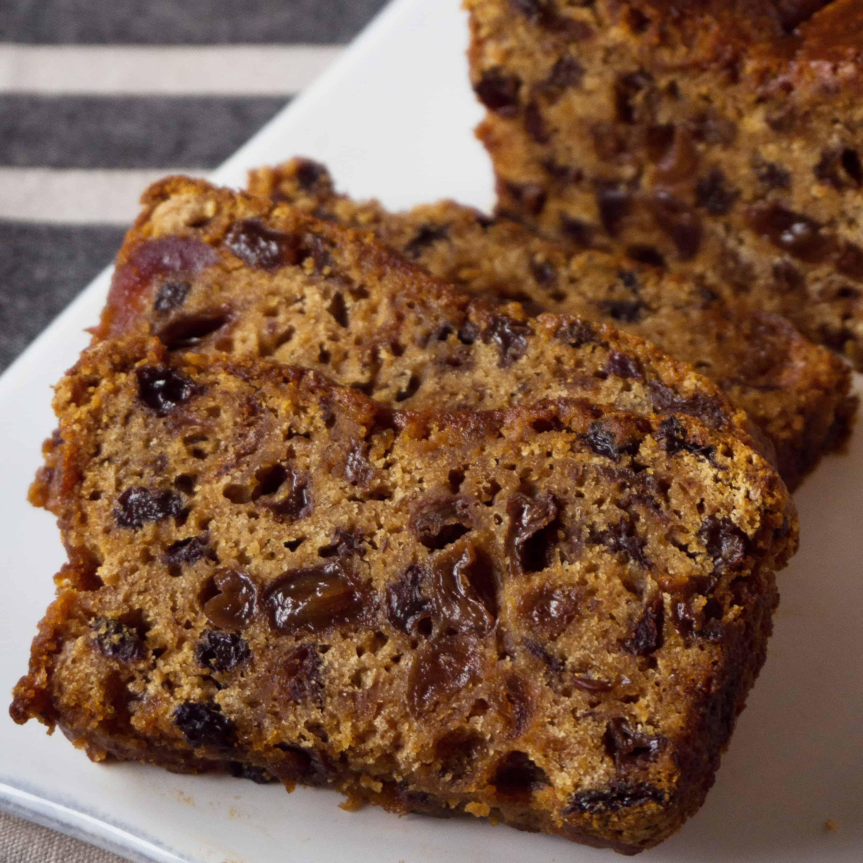 Irish Tea Brack. Gluten free, vegan