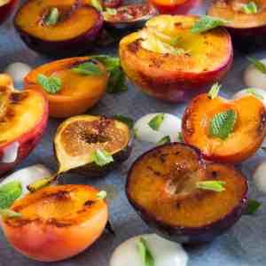 Grilled Summer Fruits