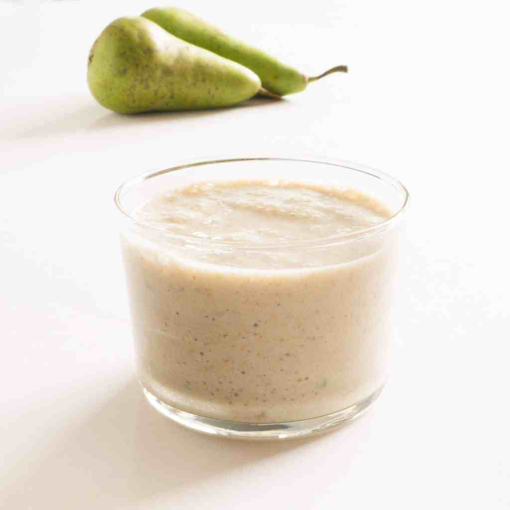 Pear and Cinnamon Smoothie - ready to drink. Gluten free, vegan