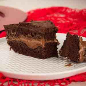 Gluten-Free, Vegan Triple Chocolate Cake