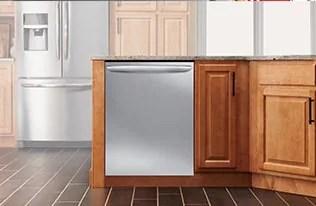 kitchen dishwashers martha stewart towels quiet portable built in by frigidaire image