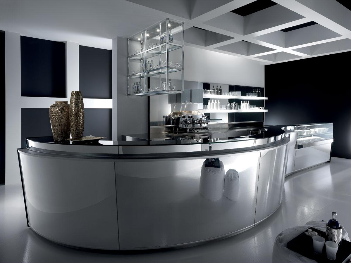 Da un arredamento caffetteria minimale, a un arredamento bar moderno o un. Bar Furniture Model Zeronove