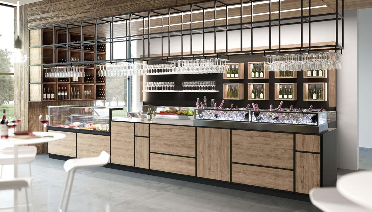 Quale stile scegliere, moderno o rustico? Come Arredare Un Bar In Stile Moderno