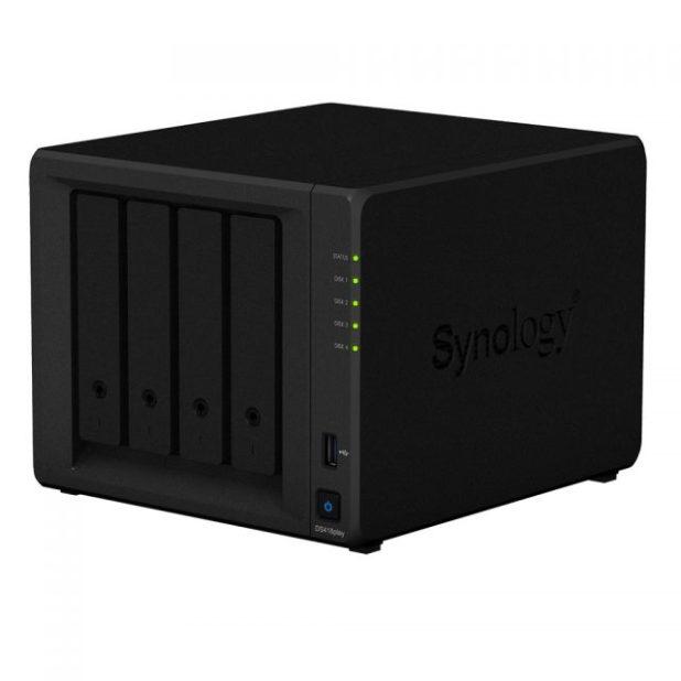 Synology presenta DiskStation DS418play.Un servidor NAS más potente, ideal para funcionar como centro multimedia del hogar.