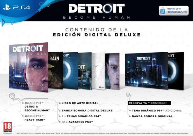 Detroit: Become Human, elthrillerde ciencia-ficción que llegará en exclusiva a PlayStation 4 el próximo 25 de mayo.