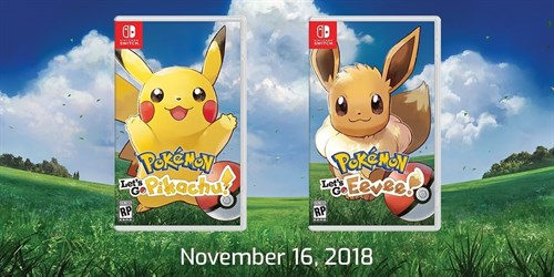 Pokémon Let's Go Pikachu!, Pokémon Let's Go Eevee!