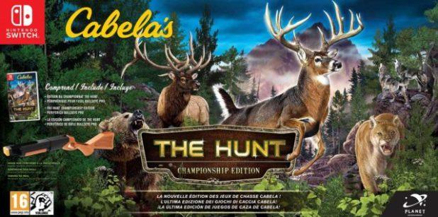 Cabela's The Hunt: Championship el juego de caza nñumeor uno en USA yBass Pro Shops The Strike el juego de pesca más completo hasta la fecha