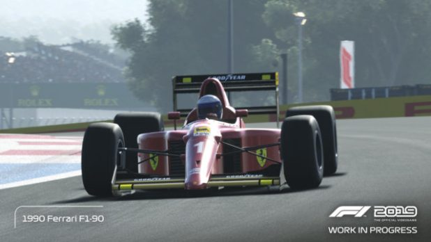 Análisis de videojuego F1 2019