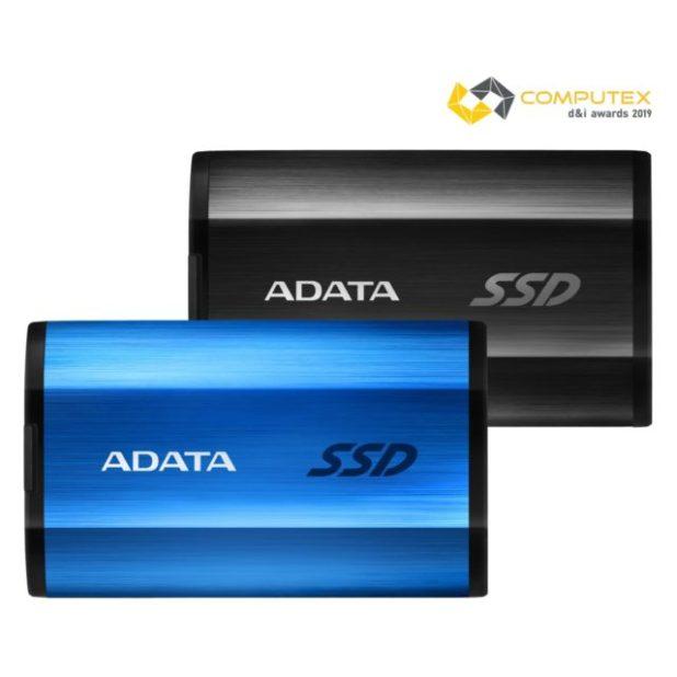 ADATA lanza SE800 USB 3.2 Gen 2 SSD externo